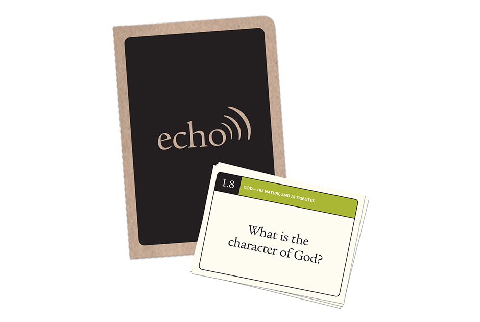 Echo Study Booklet and Cards