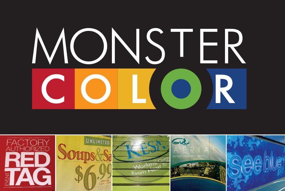 Monster Color Brochure