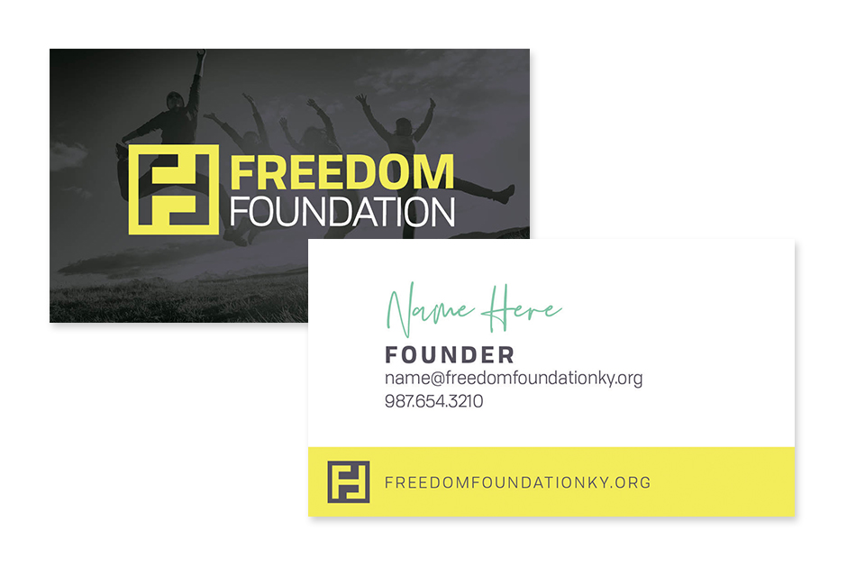 Freedom Foundation Business Card