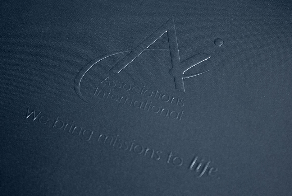 Associations International Brochure, Embossed Cover