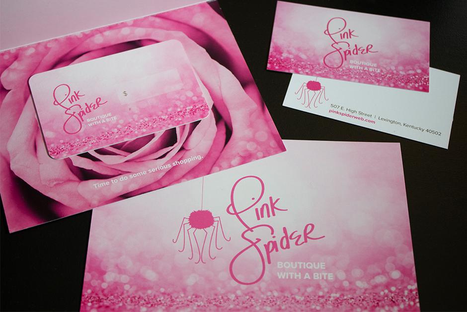 Pink Spider Branding