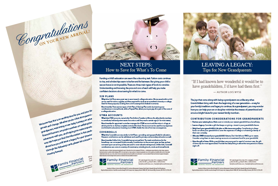 Family Financial Partners Marketing Cards