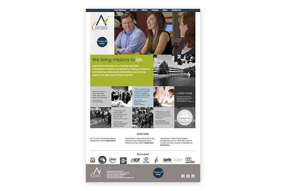 Associations International website