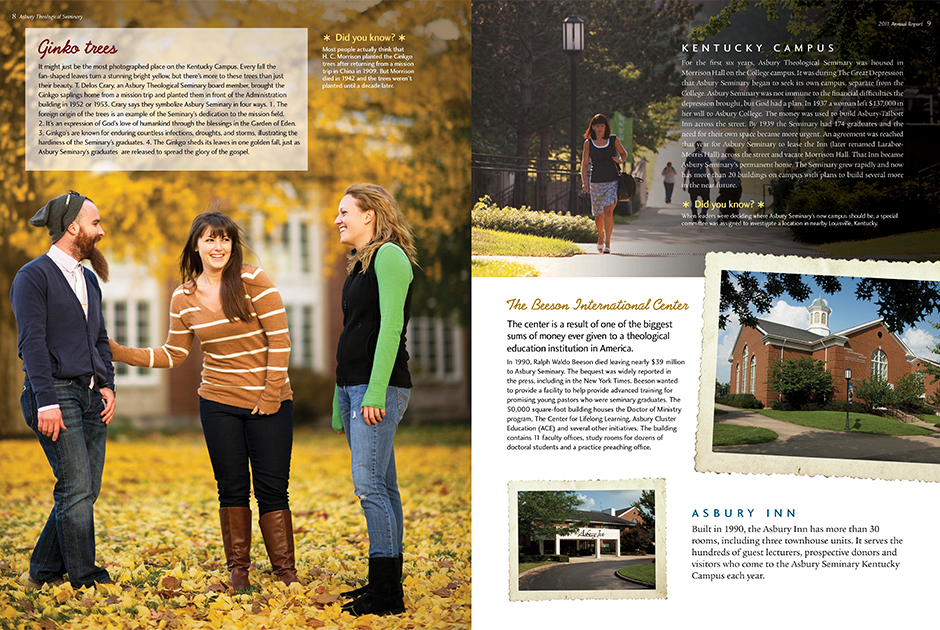 Asbury Theological Seminary Annual Report