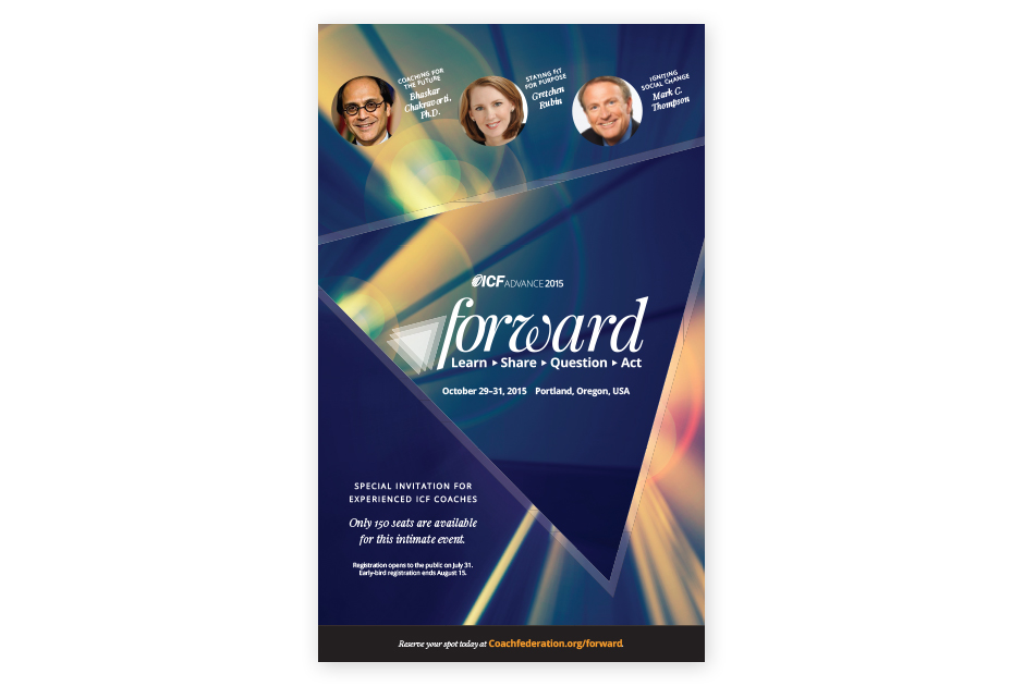 ICF Advance: Forward Invitation