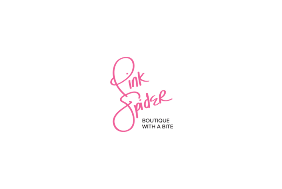 Pink Spider Logo Update by S. Wright Creative, Lexington, Kentucky graphic designer