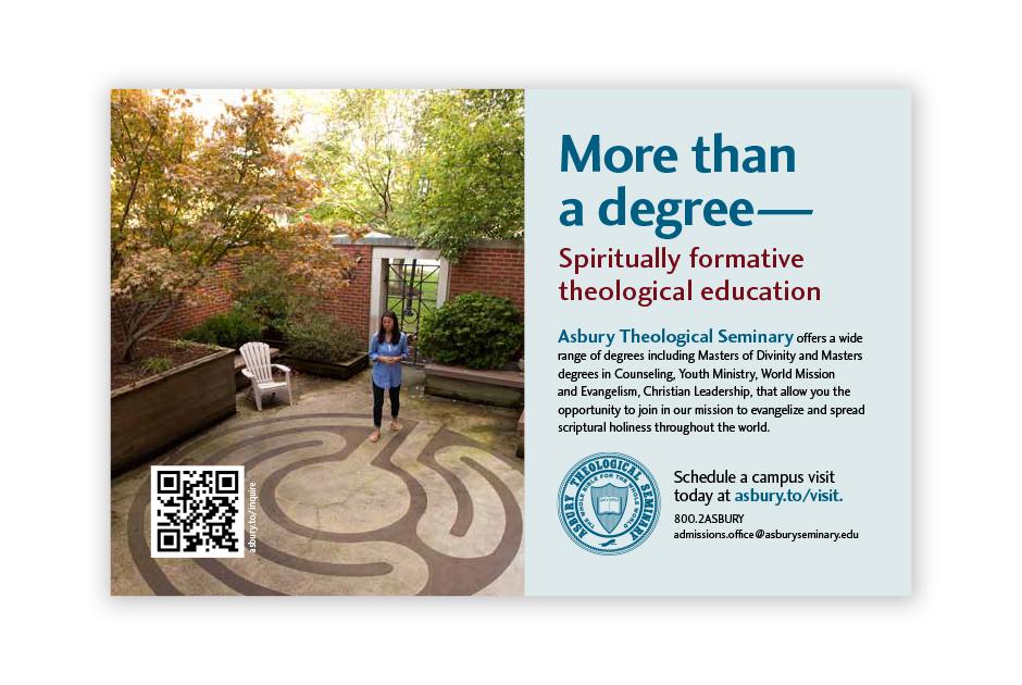 Asbury Seminary Ad