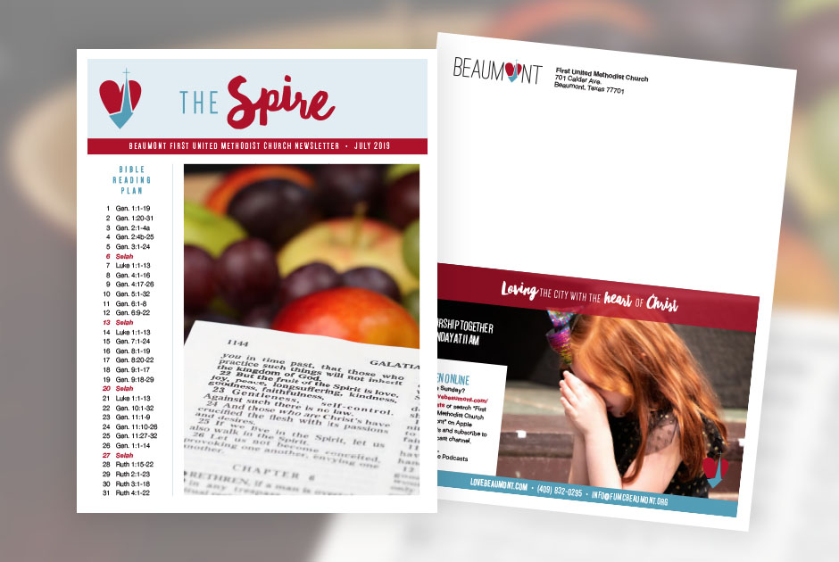 The Spire, Beaumont First United Methodist Church's Newsletter